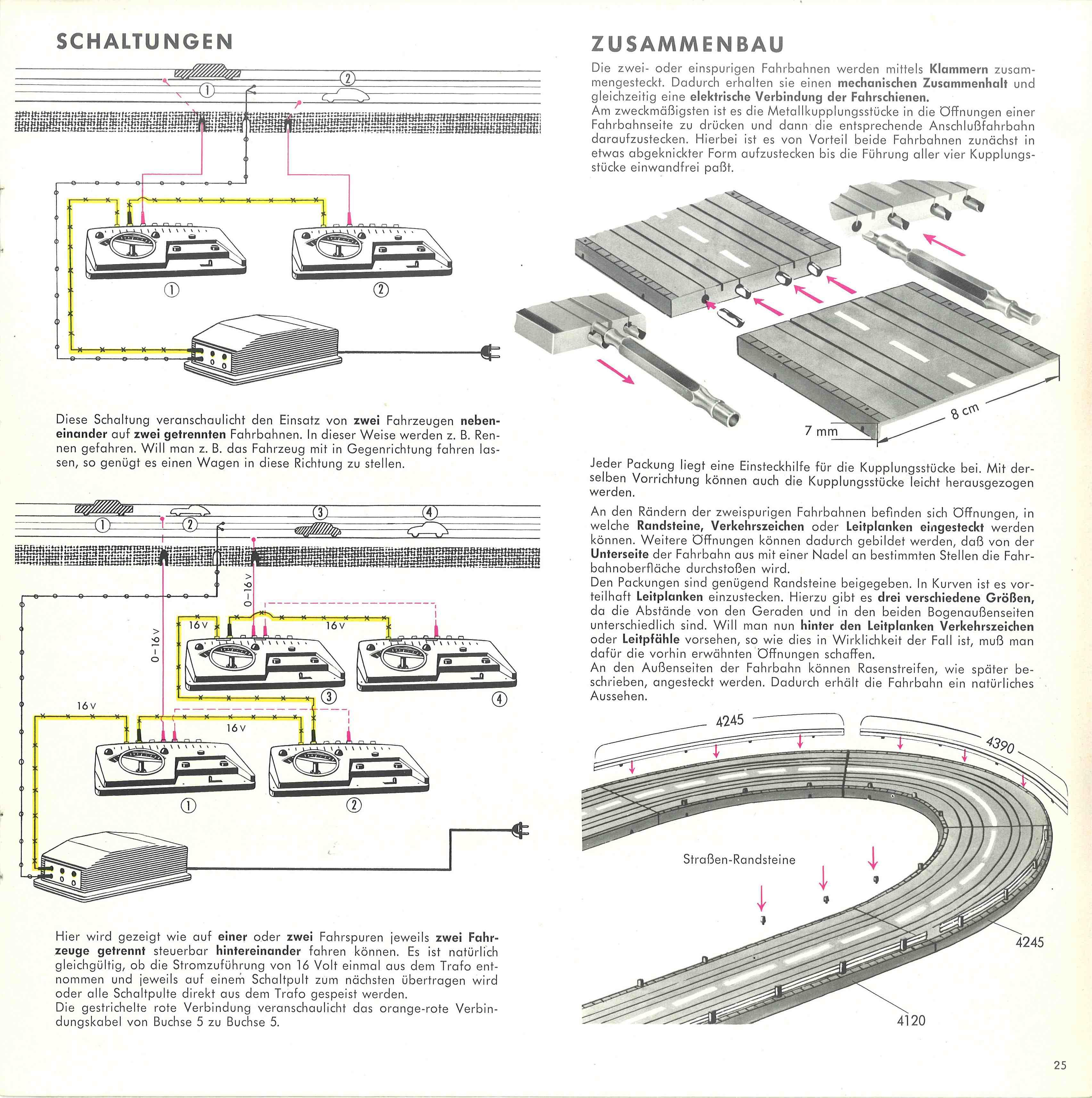 The World of Geogus : H0 Slotcars - Slotcar Magazine - Faller 851/D
