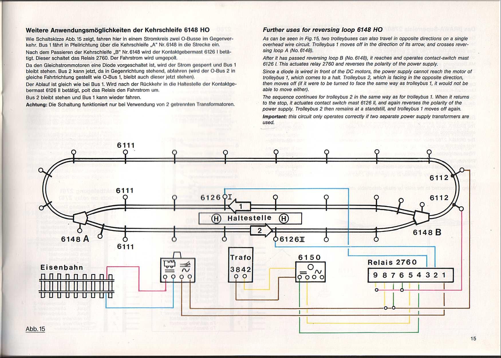 The World of Geogus : H0 Trolleys - Trolley Manuals - Trolleybus ...