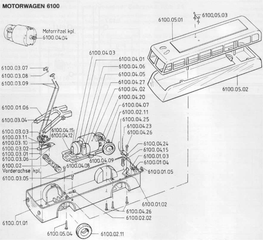 The World of Geogus : H0 O-Busse - Technische Infos - O-Bus Versionen